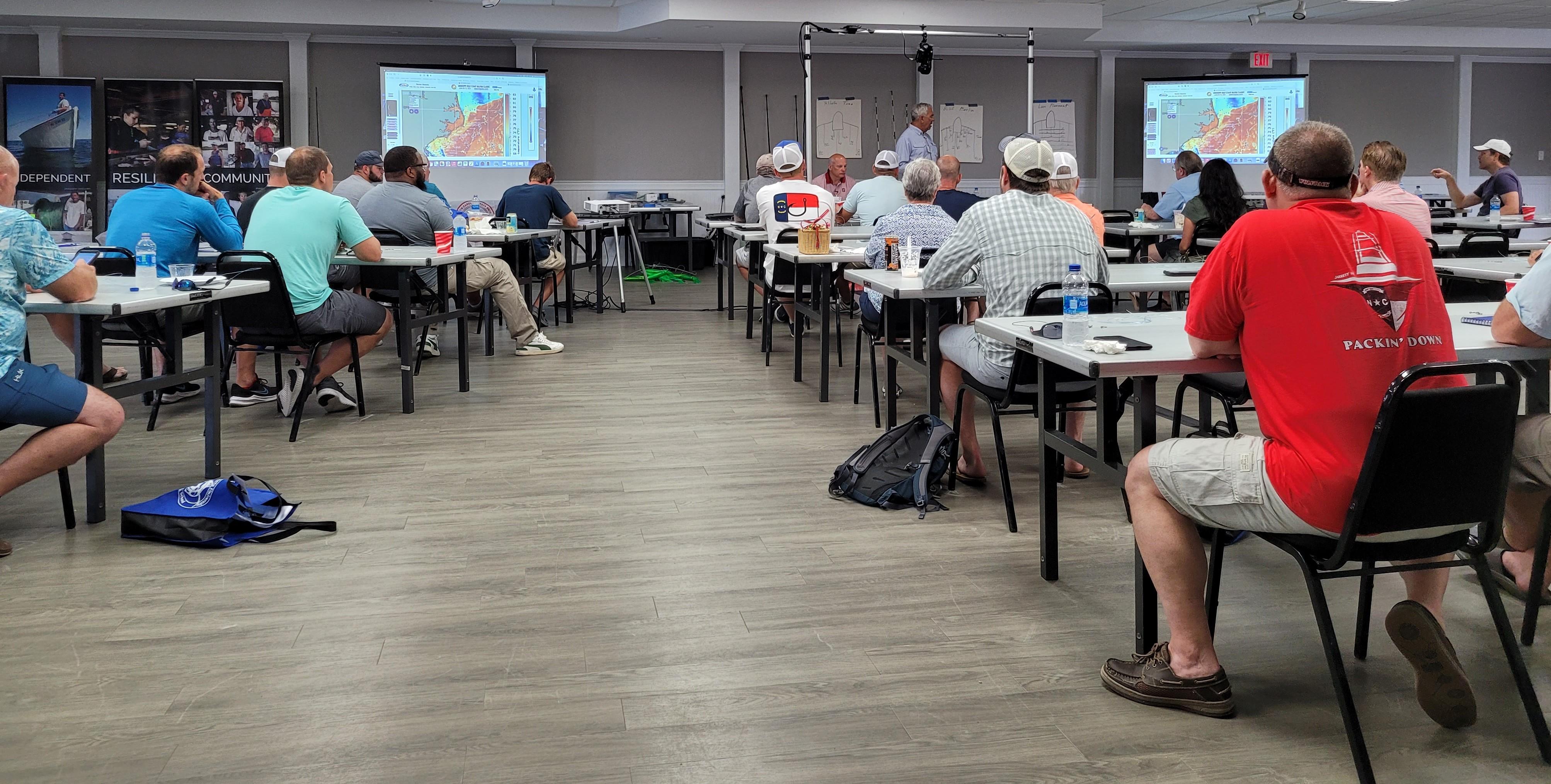 Sport Fishing School classroom